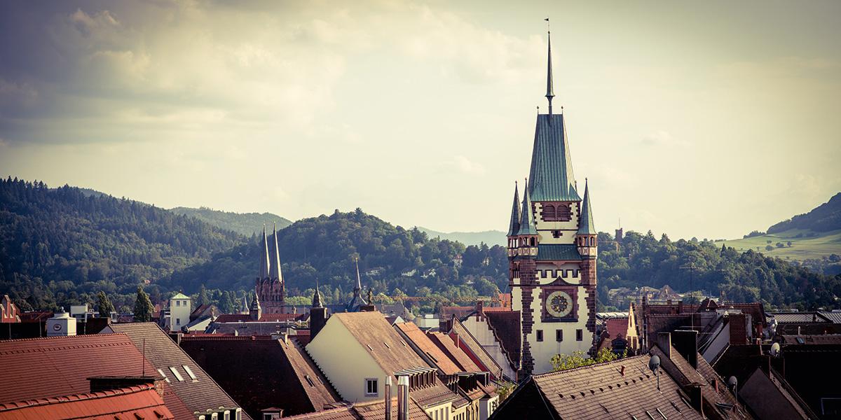 Stadtbild Freiburg